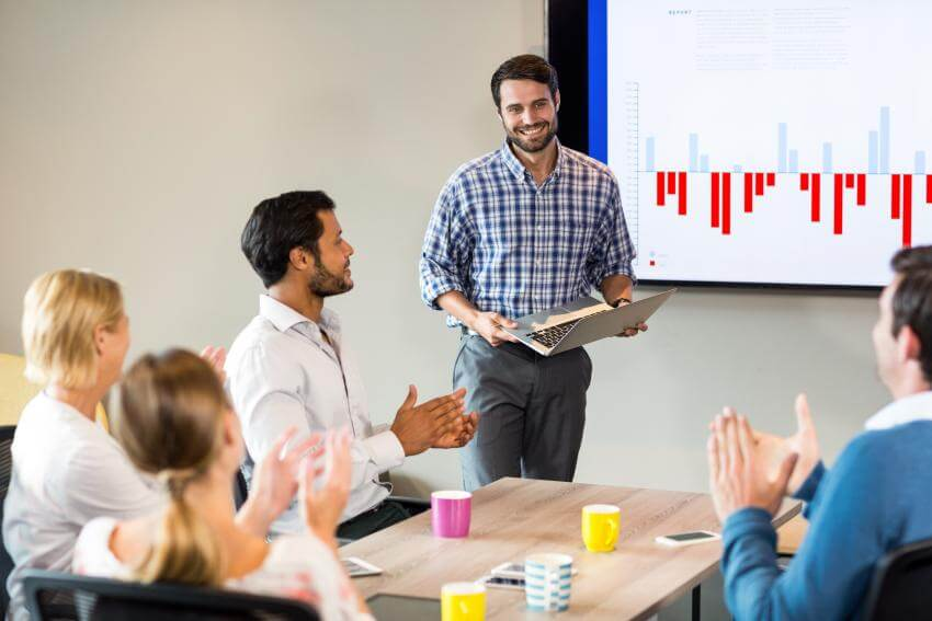 Presentation skills - Present with a smile  Thanks to its methodics, structure as well as interaction, this program is...